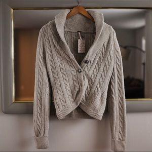 Free People Sweater Grey